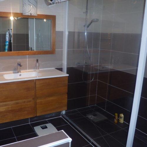 Rénovation de salle de bain à Montélimar dans la Drôme.